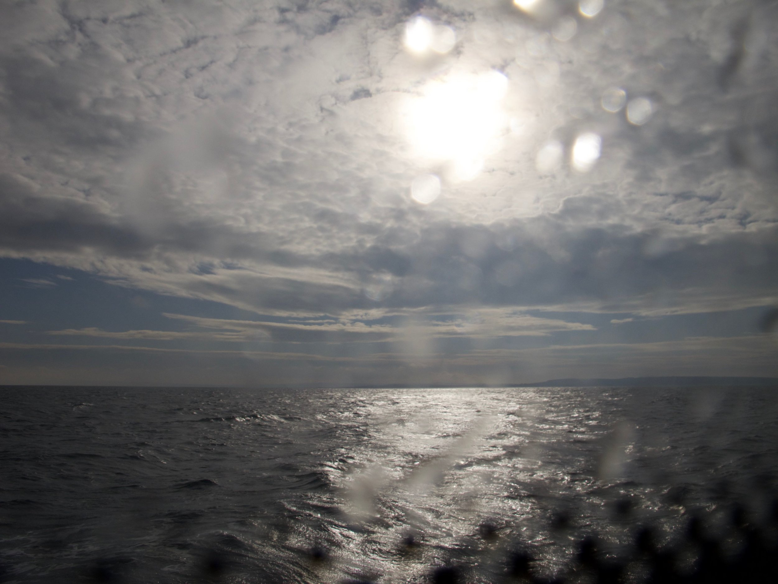 The ferry to Aran Island Ireland
