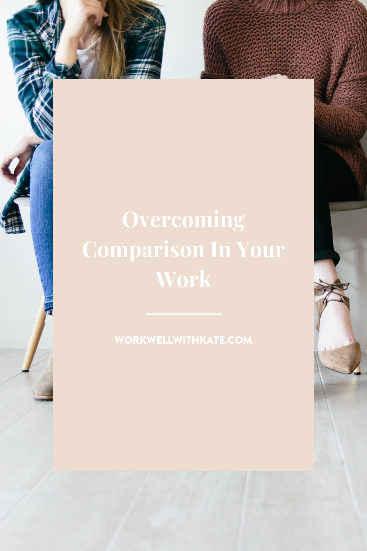 Overcoming Comparison in Your Work