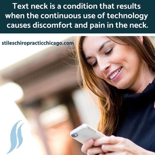 Because text neck causes misalignments and curvature of the spine, chiropractic care can be beneficial. With spinal adjustments, we can properly align your spine, keeping it healthier and free of pain. . . . . #chiropractor #chiropracticworks #chicago #chicagochiropractor #healthyfamilies #chitown #windycity #chicagoland #painfree #spine #wellness #fitnessmotivation #drtraceystiles #health #healthyliving #traceystiles #stileschiropractichicago #stileschiropractic #subluxation #chirokids #chirokidsrock #healthychoices #health #healthandwellness