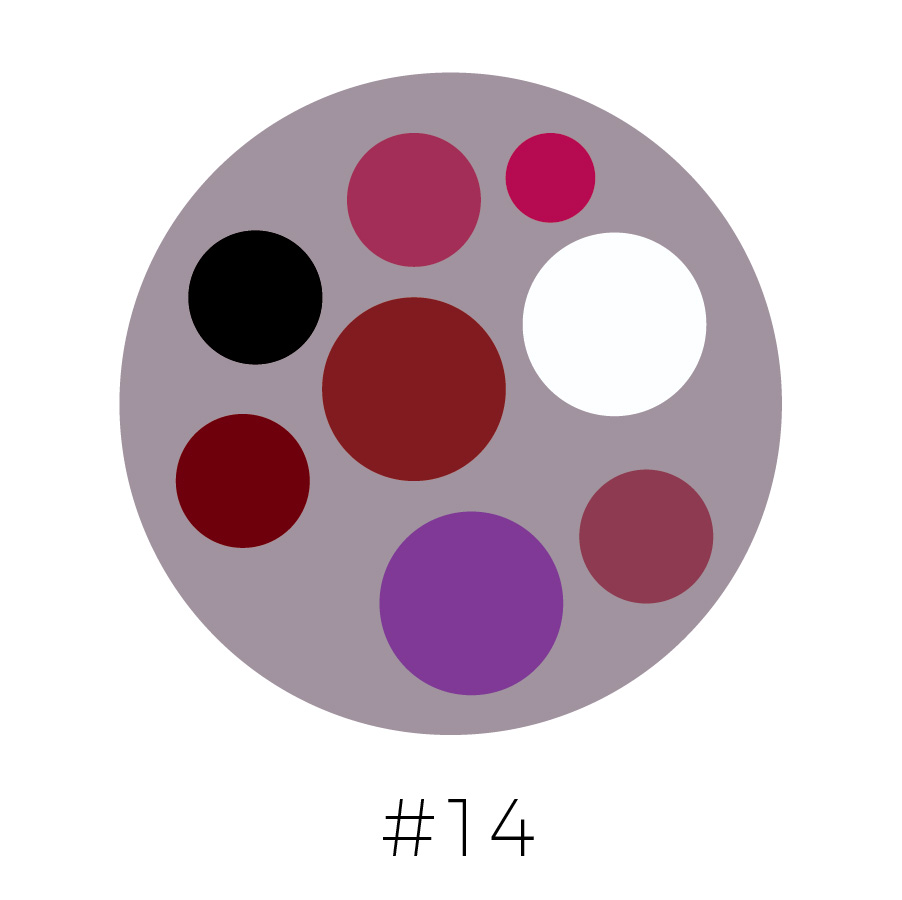 Dove Gray Background | Mulberry, Magenta,  Black, Dark Red, Brick Red, Purple, Mauve  & White