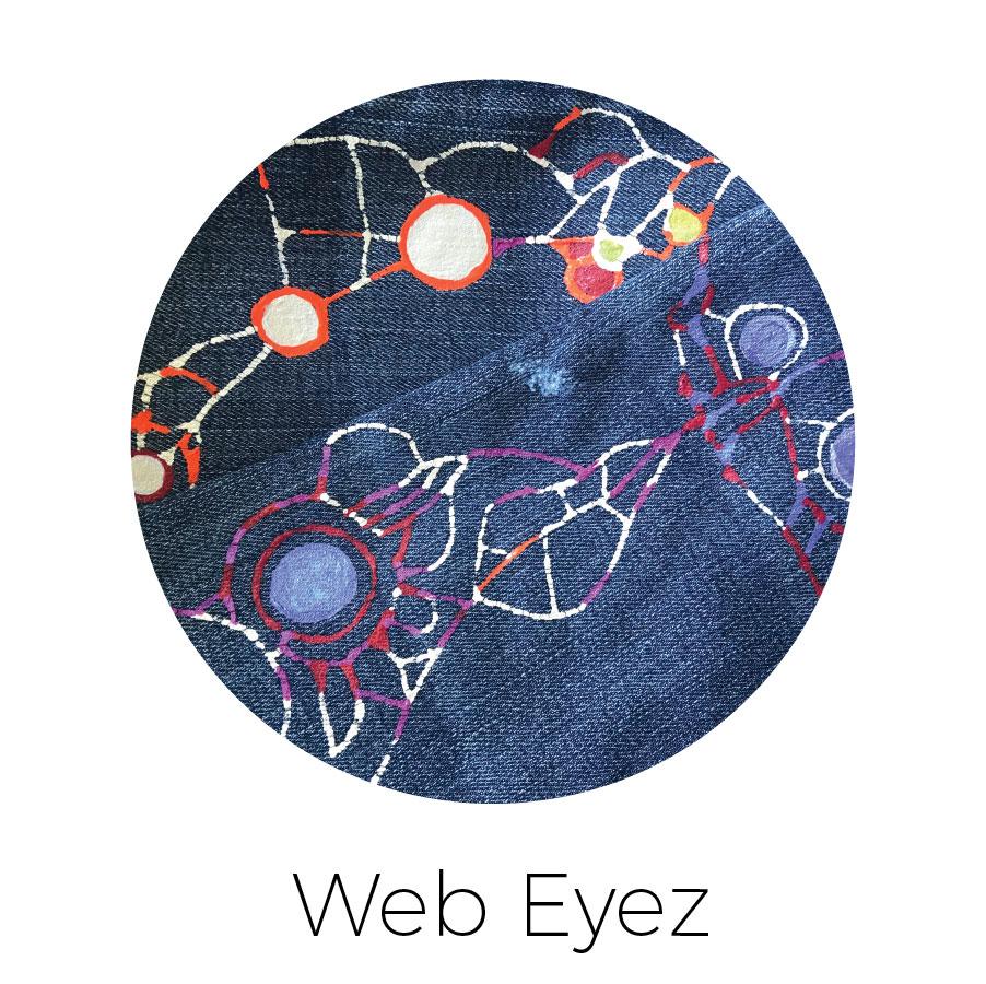 """Bones"" and large ""Dotz"" connecting into ""Webz"""