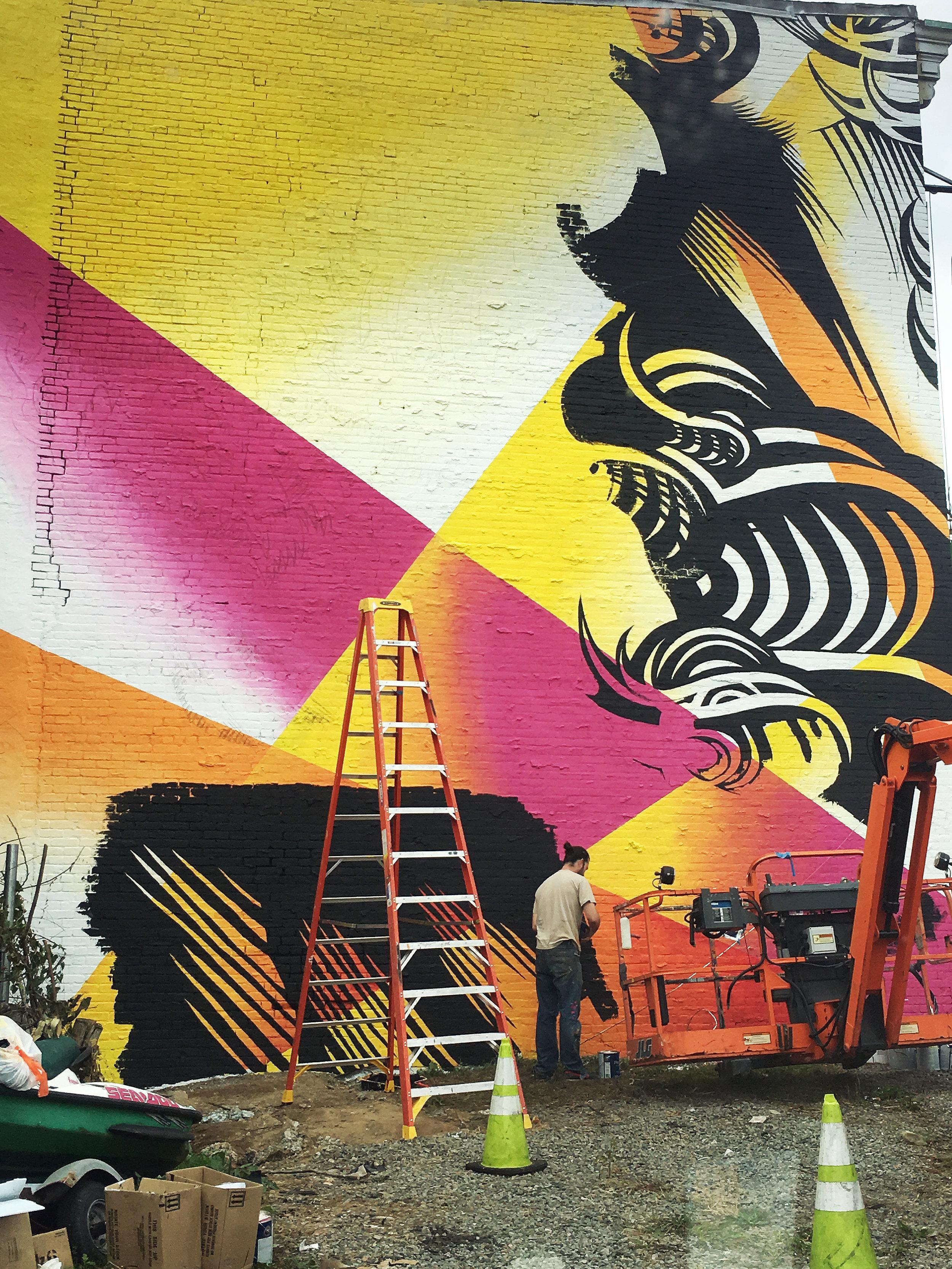 JERSEY CITY MURAL ARTS PROGRAM, 2017