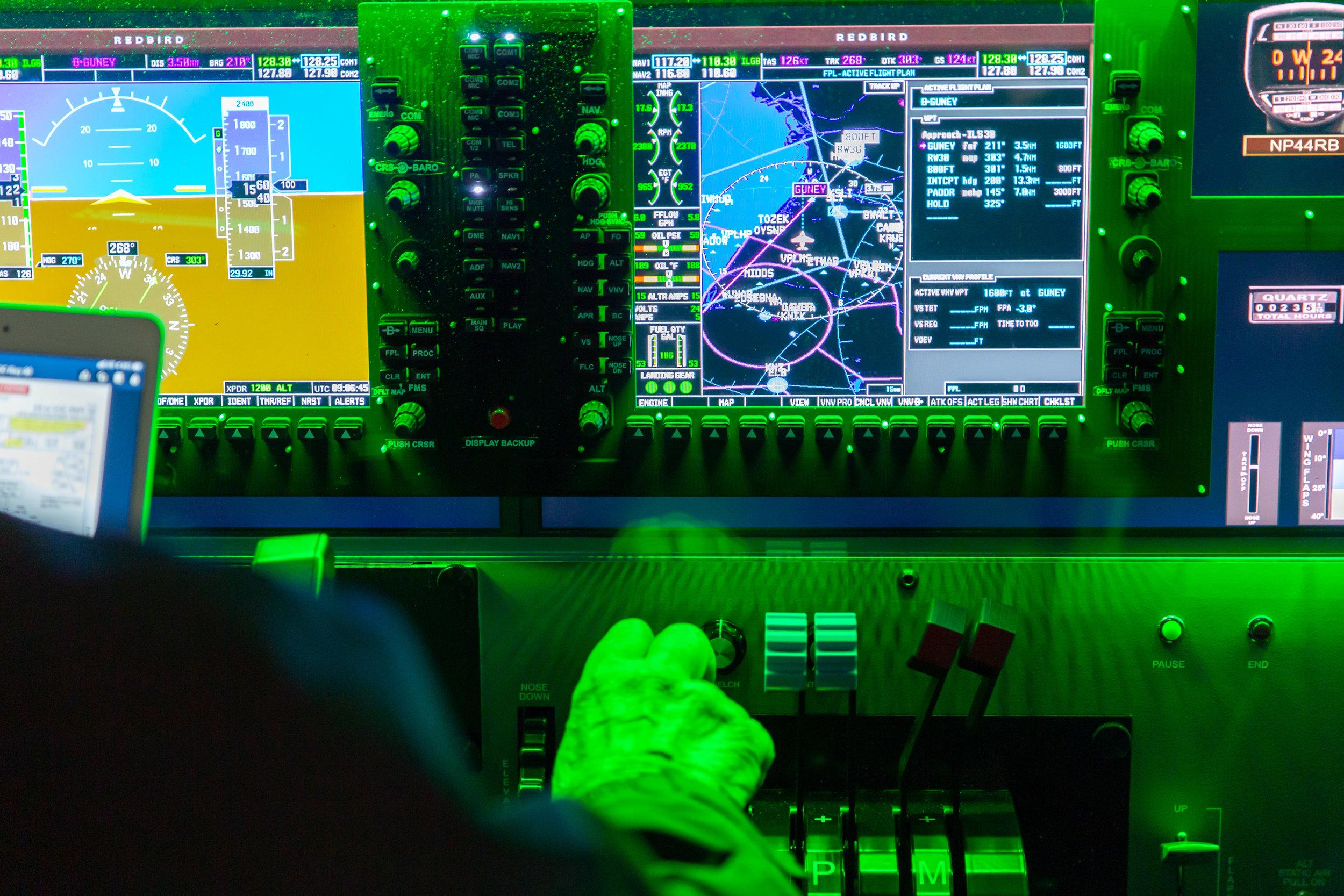 Redbird Flight Simulator — Pacific Flight Aviation