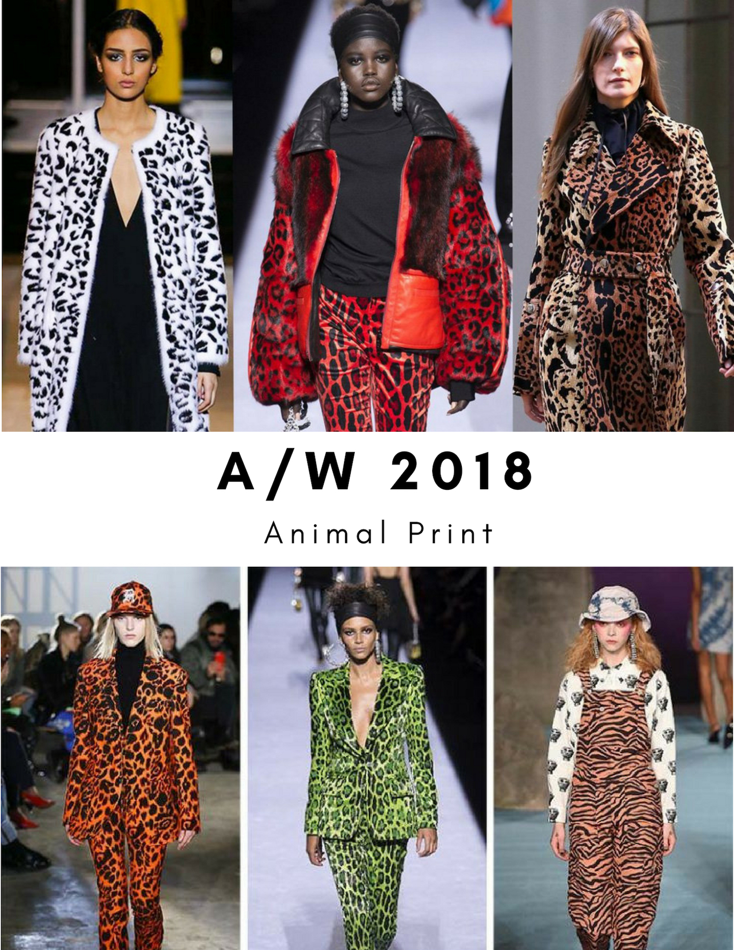 Autumn Winter 2018 Trends Animal Print Ugly Campaign
