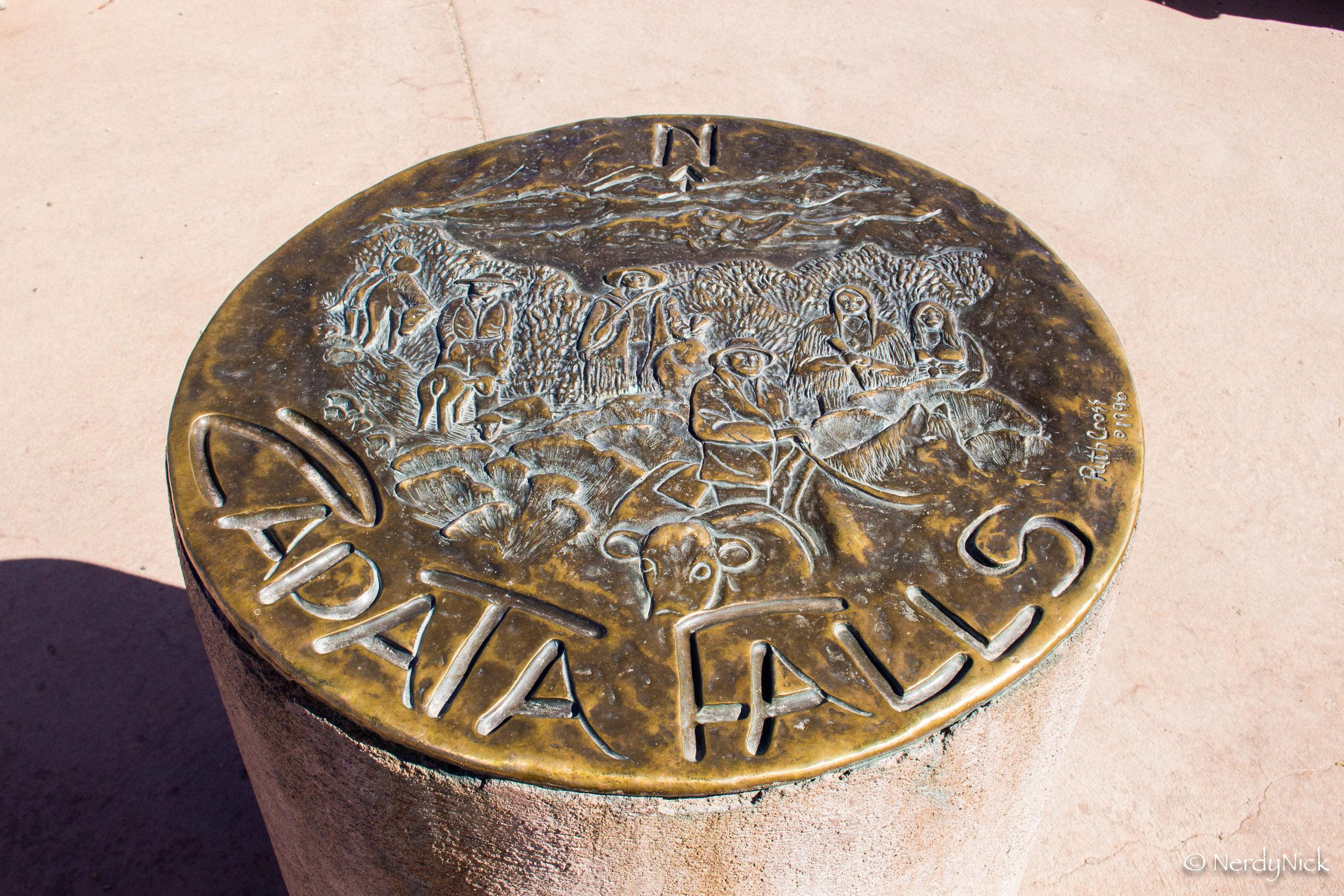 Zapata Falls Trailhead