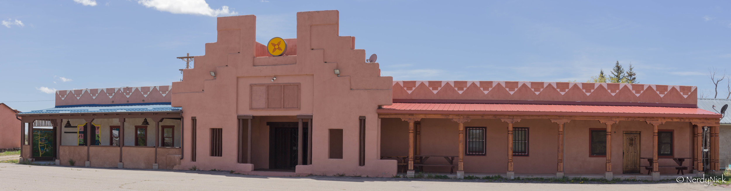 Fun little building we ran into in Costilla New Mexico