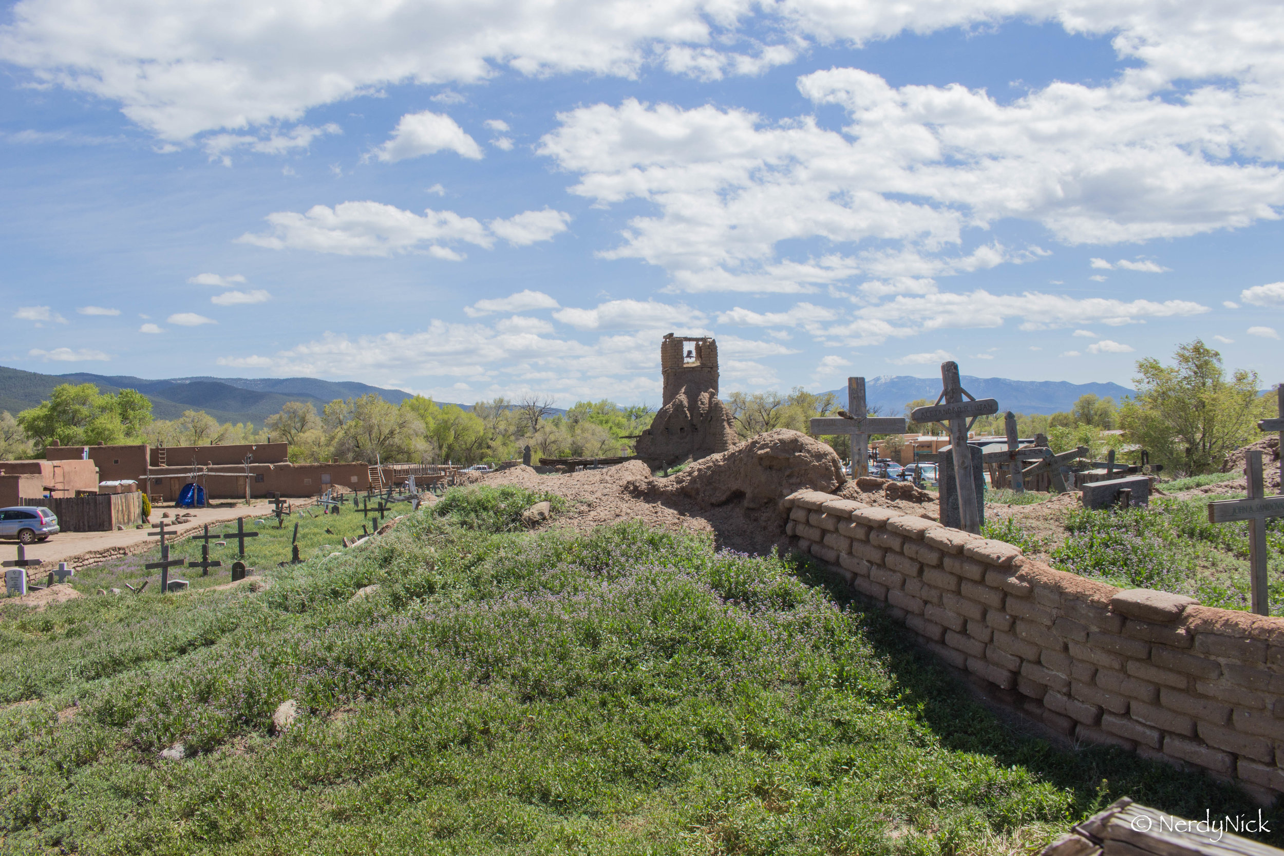 The activly being restored Taos Puelbo