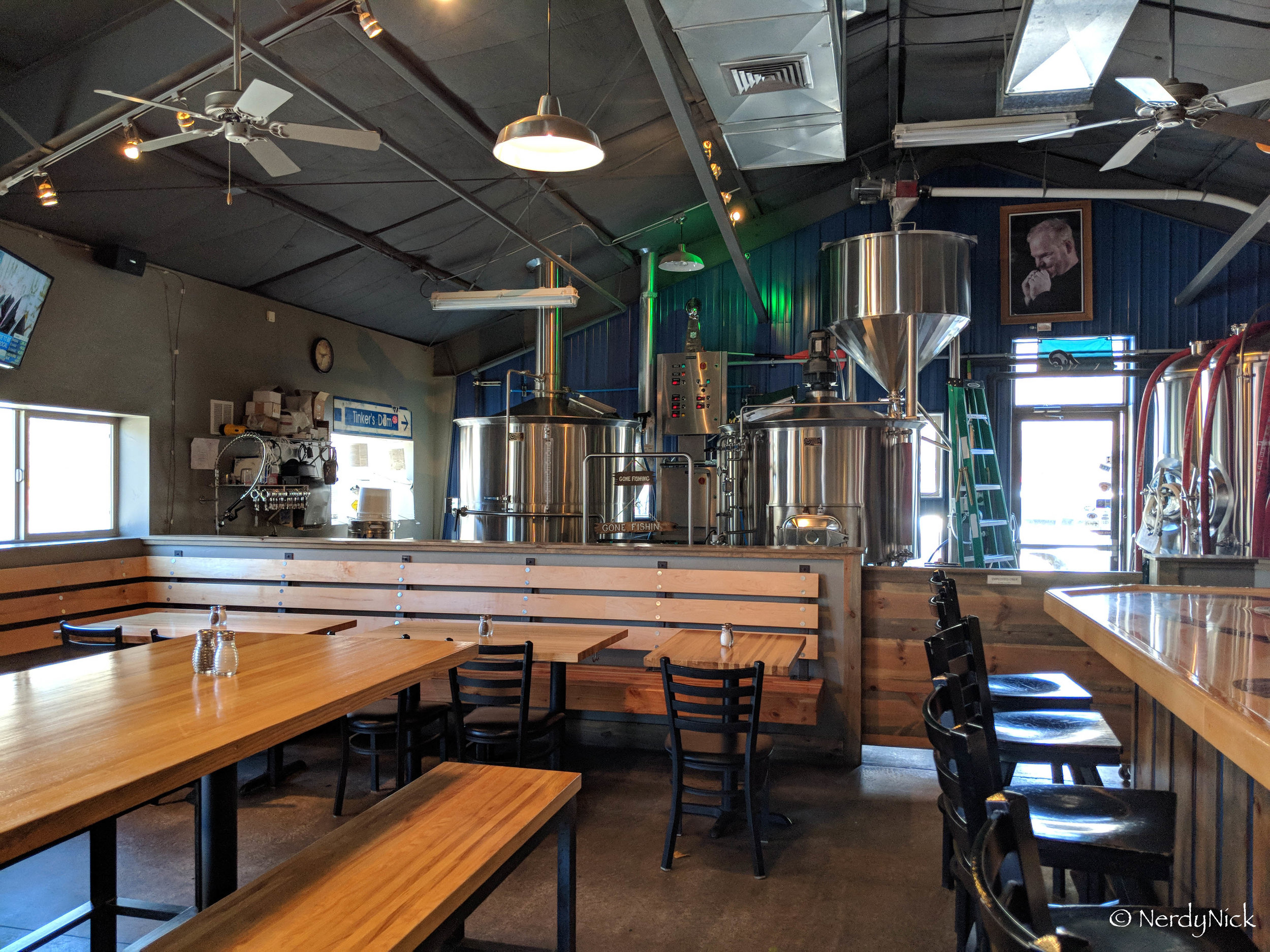 The brewhouse at Animas Brewing Company