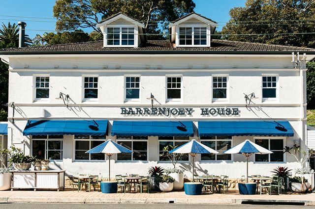 Welcome to Barrenjoey House⁠ #theboathousegroup #barrenjoeyhouse #palmbeach  #restaurant #guesthouse