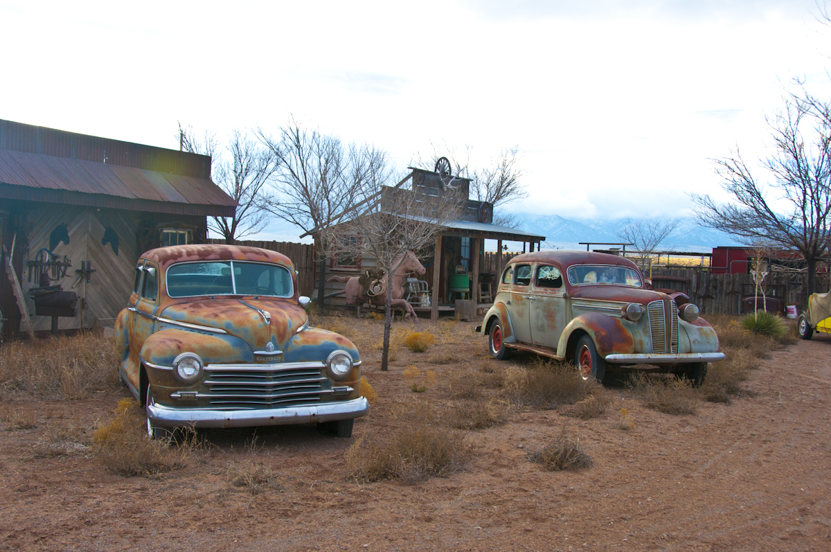 leroy lopez  Studio Location # 18  Self-guided tour of historic village and vintage cars