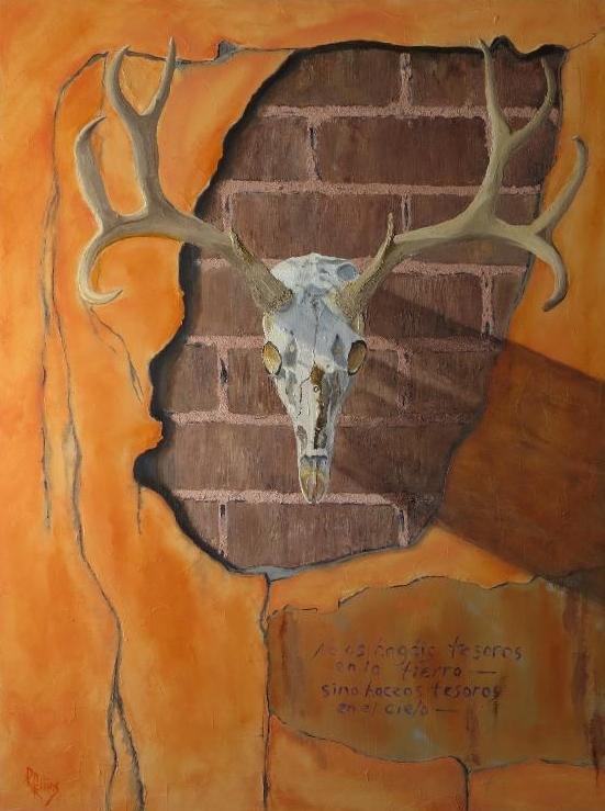 randall robbins  Studio Location # 10  oil painting & pastel