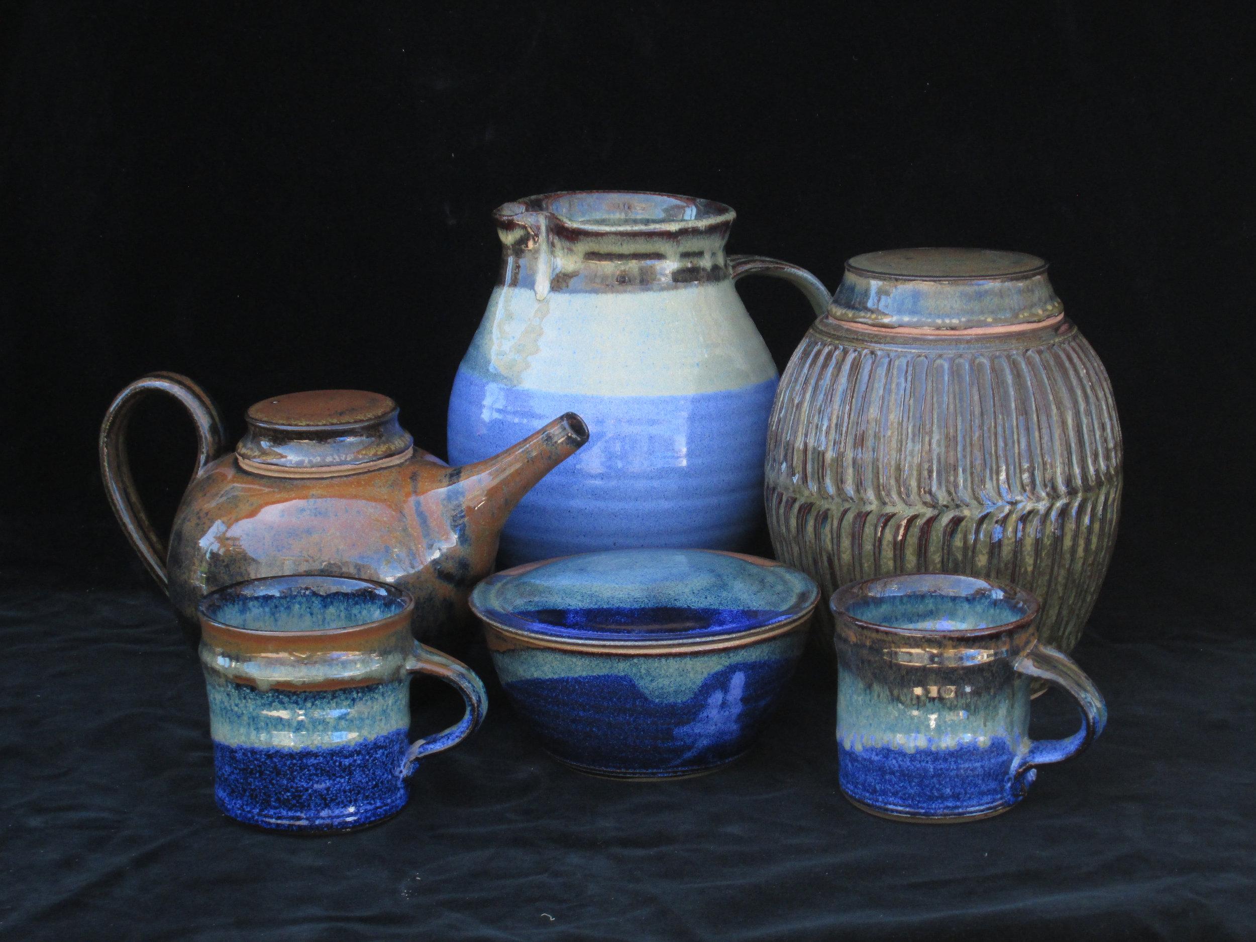 scott goewey  Studio Location #17  functional stoneware pottery, sculptural earthenware