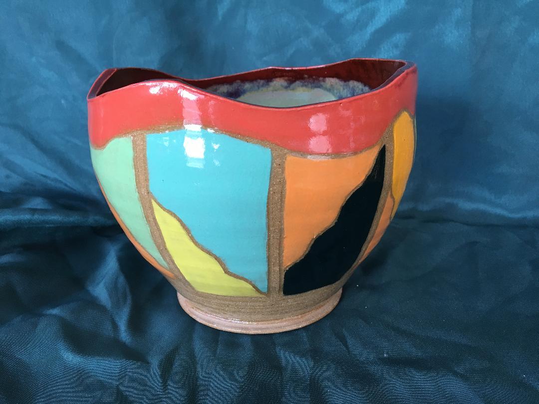judy pekelsma  Studio Location #3 / Heart of the Raven  Pottery, Fine Art