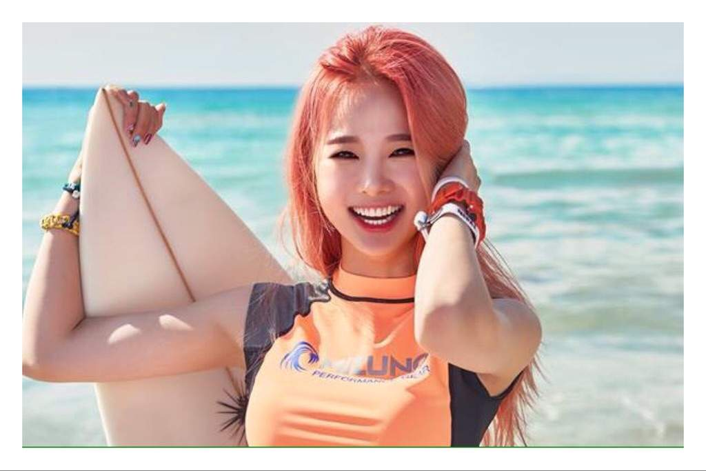 Solji - Is the leader of the group!