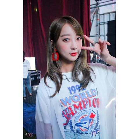 Hyerin - Is the lead vocalist!