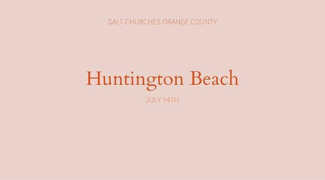 COME + SEE  In two weeks - Sunday July 14th Huntington Beach is launching!! - - - To see the Great Commission fulfilled and Christ's Kingdom come by planting lost-winning, disciple-making, multiplying micro-churches, 10 minutes away from every person on earth.  DM for details