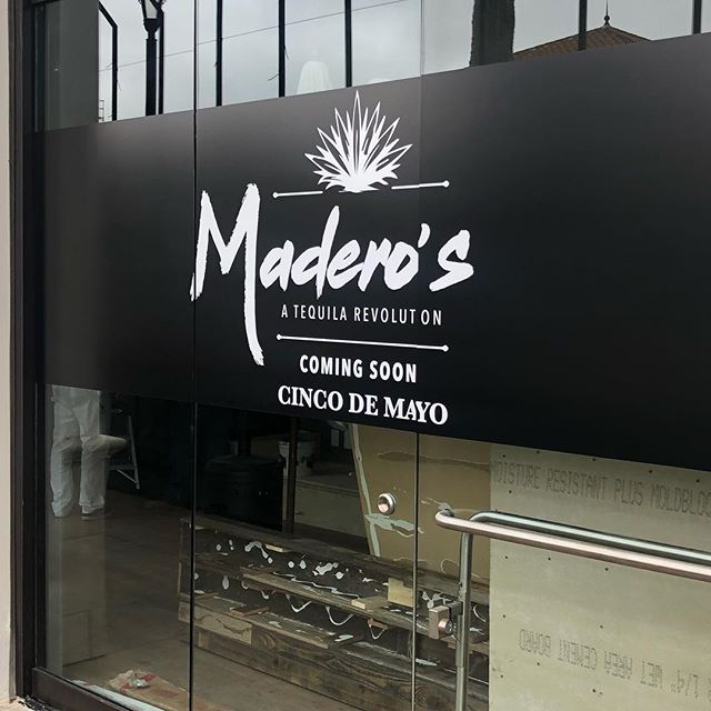 The short-lived Casa Rustica restaurant will be replaced by a new Mexican eatery in Pacific Highlands Ranch. From the owners of neighboring Wokou Ramen. Called Madero's, it will be an authentic Mexican restaurant and tequila bar with 60 different kinds of tequila. Hopefully it lasts longer then Casta Rustica 😀 It says it will open on Cinco De Mayo but I walked by today and still looked like a lot of work needs to get done so we'll see #pacifichighlandsranch @thevillageatphr #sandiegomexicanfood #cincodemayo #westroottavern #carmelvalley #offthe56