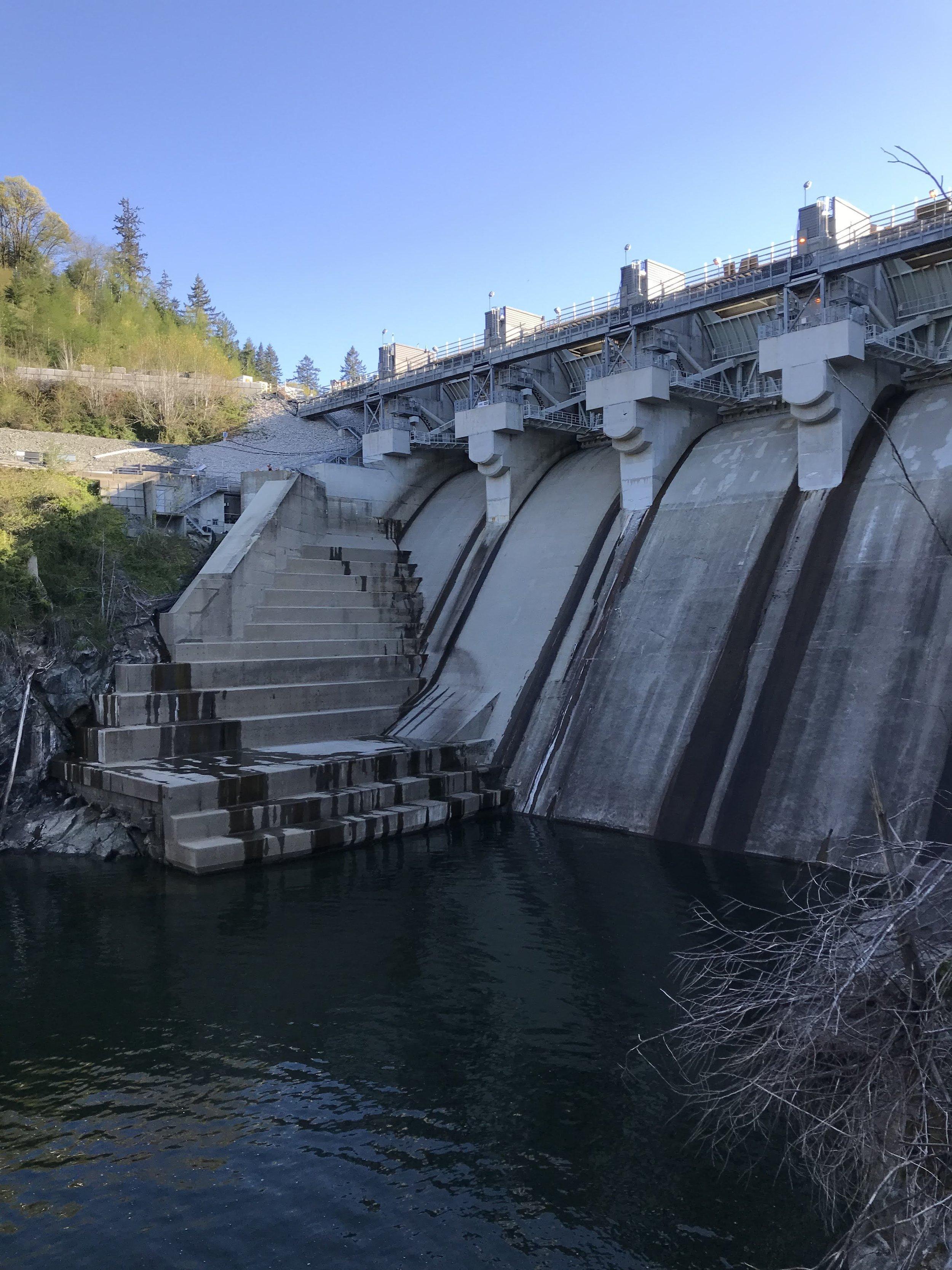 Ruskin Dam, Mission, Flatiron Construction, MacLean Bros. Drywall