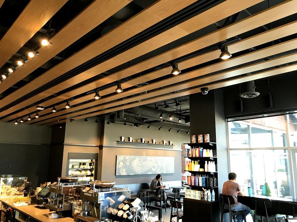 Starbucks, Commercial Tenant Improvement, MacLean Bros. Drywall