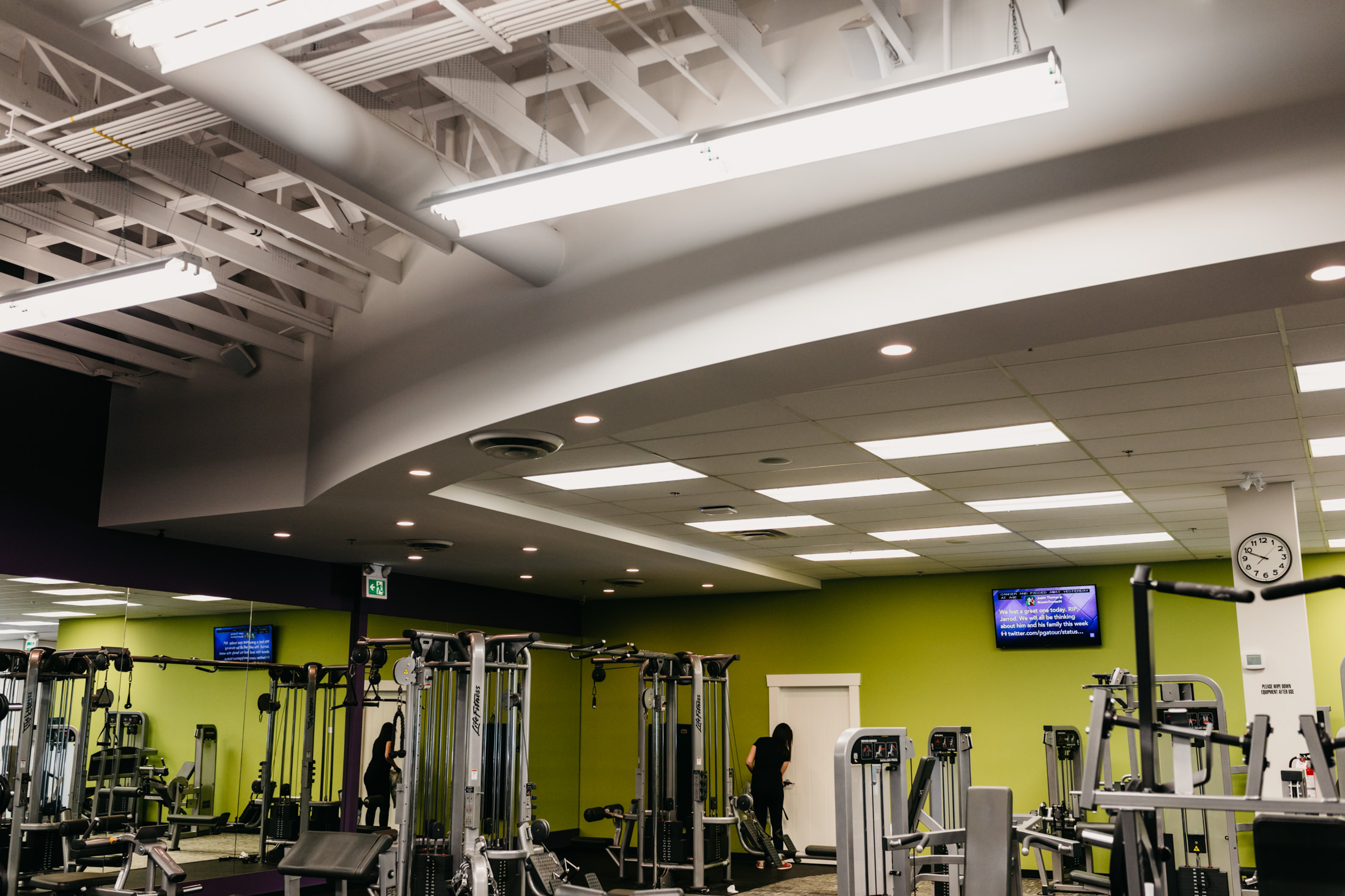 Anytime Fitness, Mission, MacLean Bros. Drywall, Commercial Tenant Improvement