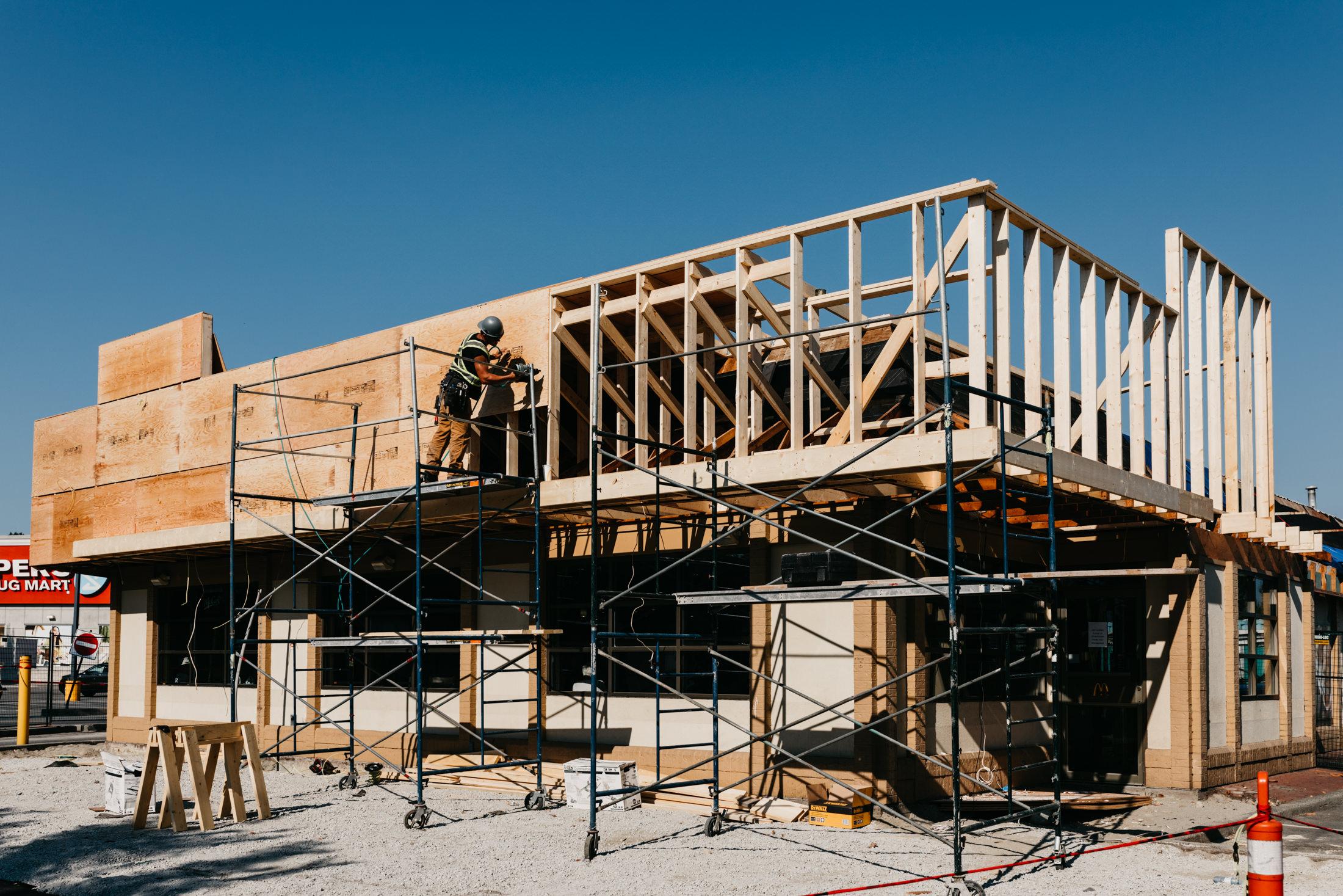 MacLean Bros. Drywall, Commercial Tenant Improvement