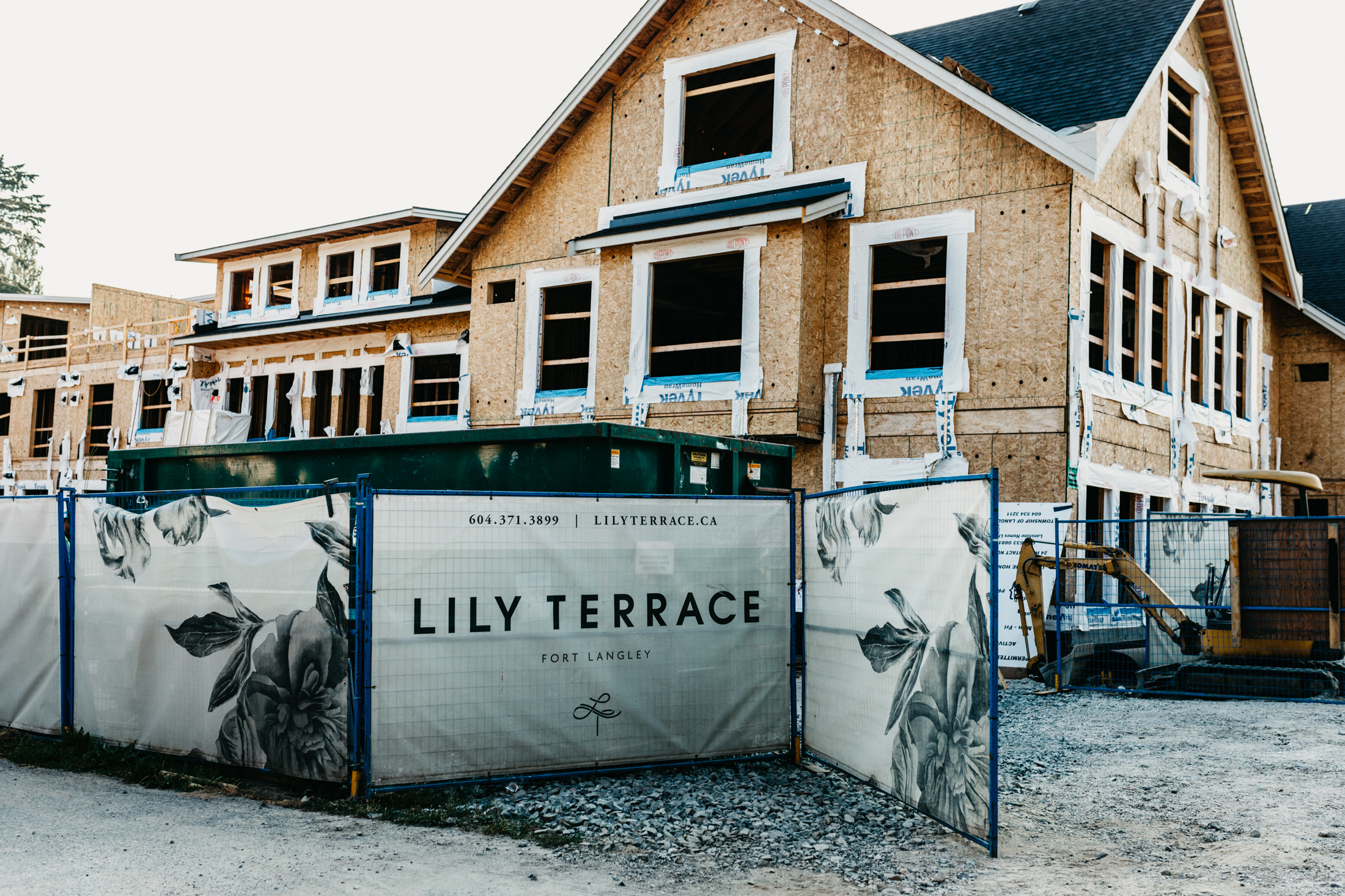 Lily Terrace, Lanstone Homes, MacLean Bros. Drywall, Fort Langley