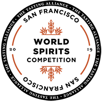 San Francisco World Spirits Competition:    Rye finished in Rum casks  - Double Gold (every judge gave it a Gold)   Bourbon finished in Sherry  - Silver