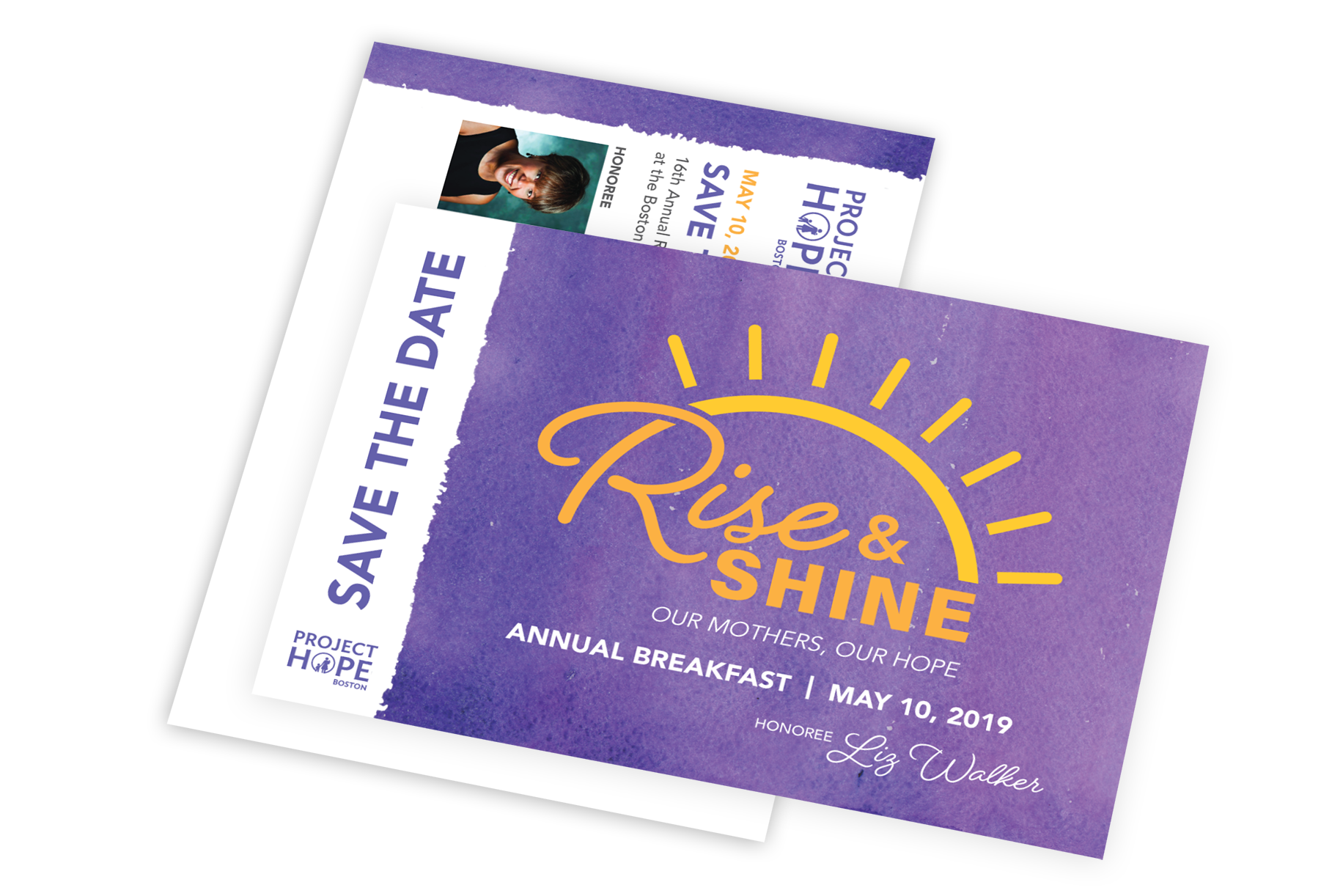 Rise & Shine Save the Date