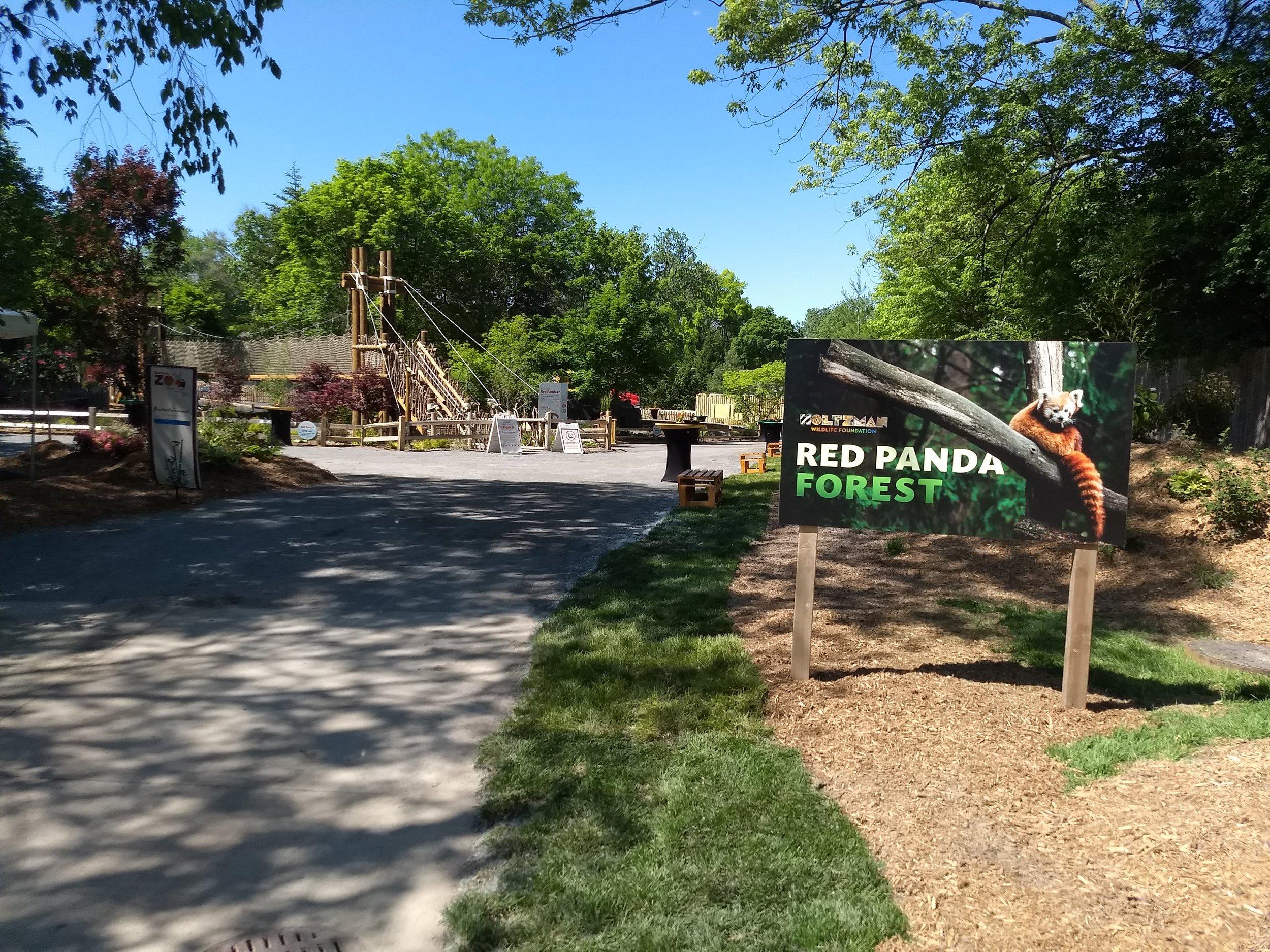 Holtzman Wildlife Foundation Red Panda Forest —Detroit Zoo