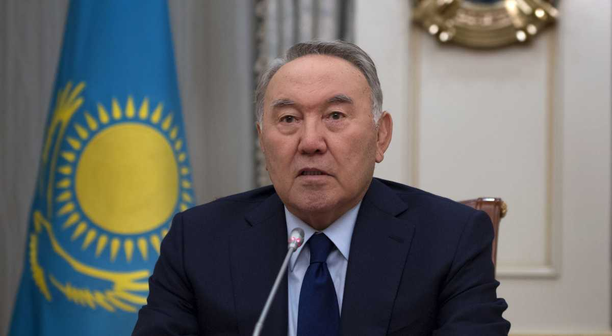 Nursultan Nazarbayev, in an address to his country's citizens, announced his resignation as president of Kazakhstan. Nazarbayev has been the top executive leader of Kazakhstan since 1990. (Official Kazakhstan photo)