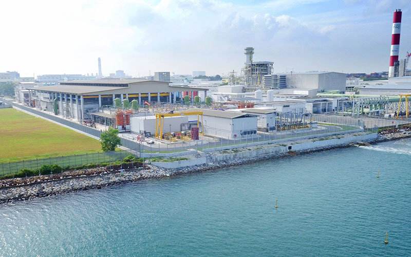 Tuaspring Desalination Plant. (PUB photo)