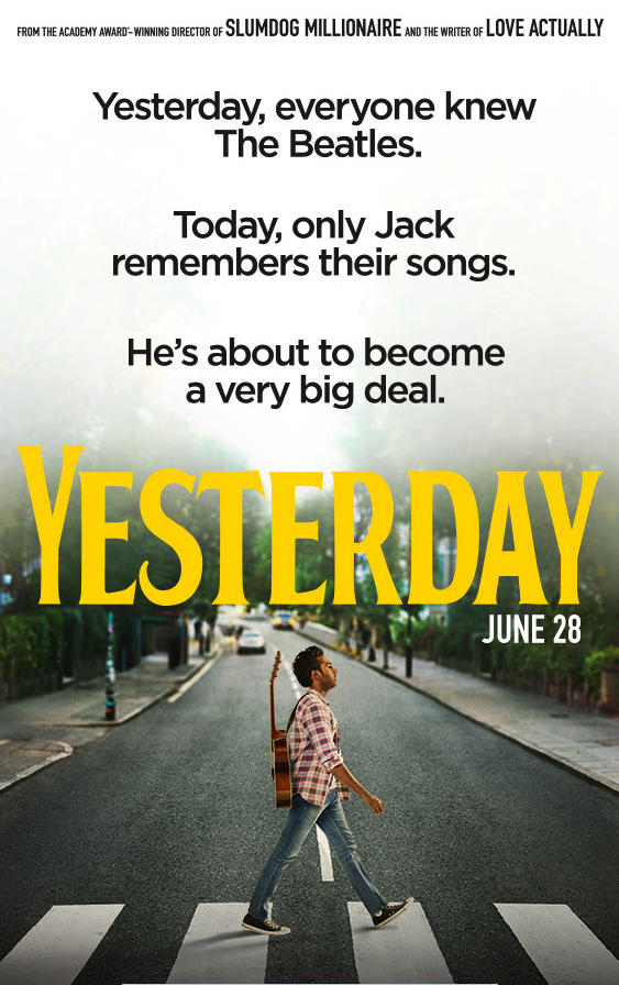 Yesterday   opens on June 28. The film is directed by Danny Boyle and stars Himesh Patel.