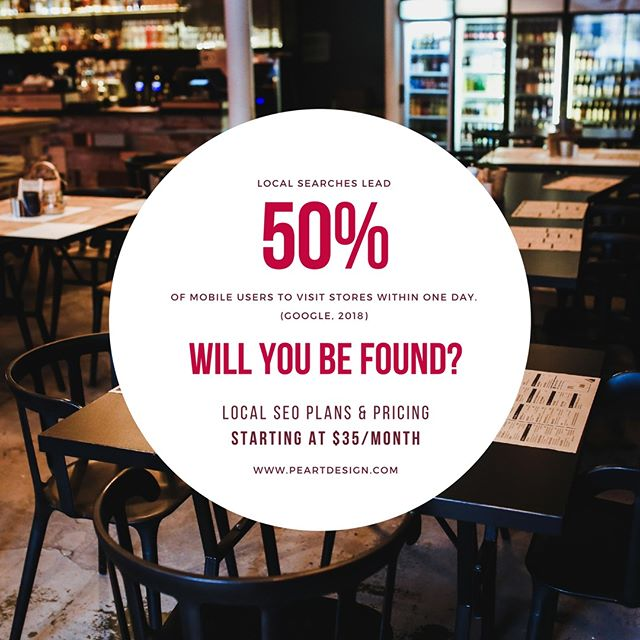 Local searches lead 50% of mobile users to visit stores within one day. (Google, 2018) Will you be found? We can help with your Google My Business profile along with other directory listings that is vital to Local SEO.  #smallbusiness #smallbiz #marketing #digitalmarketing #brand #success #providence #providenceri #rhodeisland