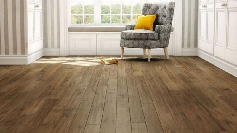 Beautiful bamboo flooring