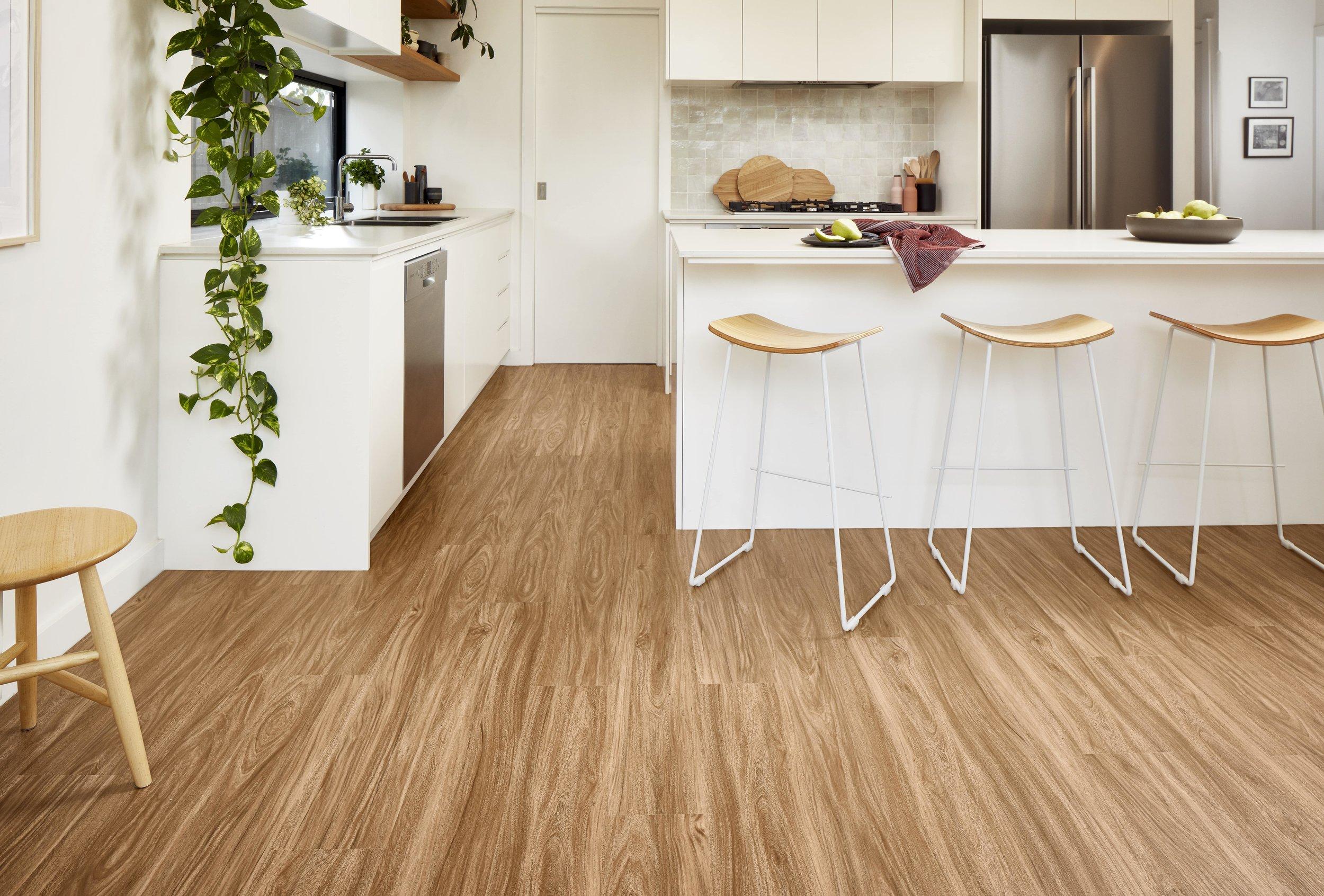 Godfrey Hirst's Apollo range of hybrid flooring, available at Kawana Flooring Warehouse