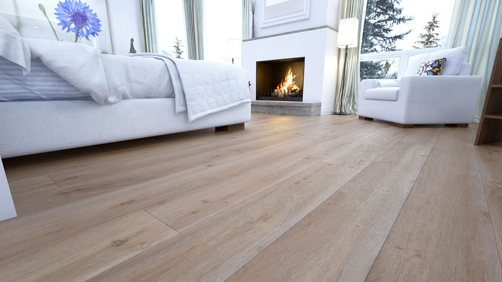 Proline Floors - Grand Provincial Oak Laminate Flooring