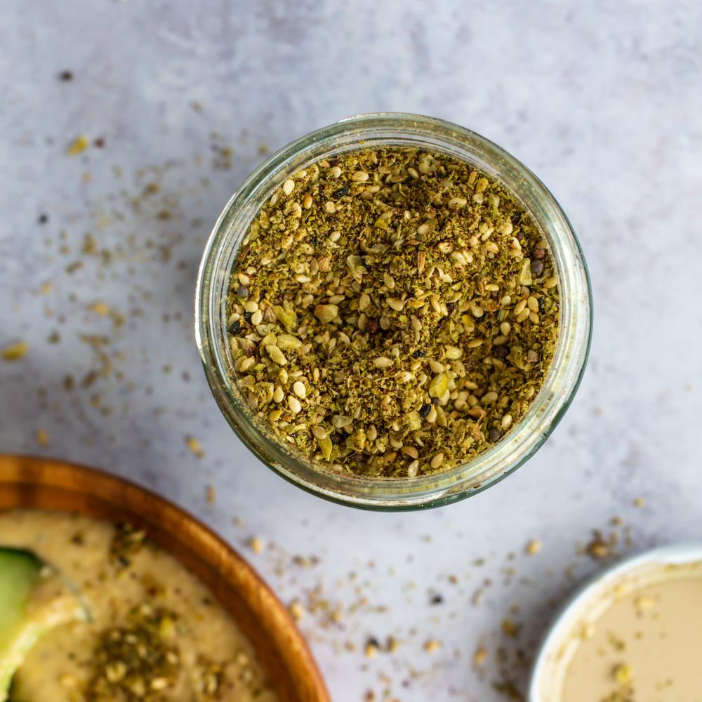 Dukkah Hummus
