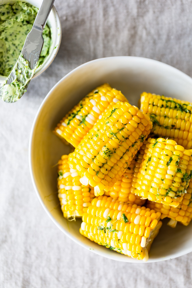 easy steamed corn on the cob