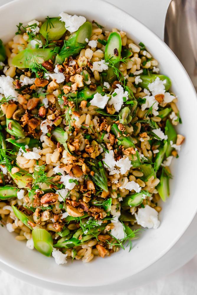 Kamut & Asparagus Salad