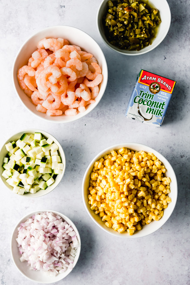 Spicy Shrimp & Corn Chowder