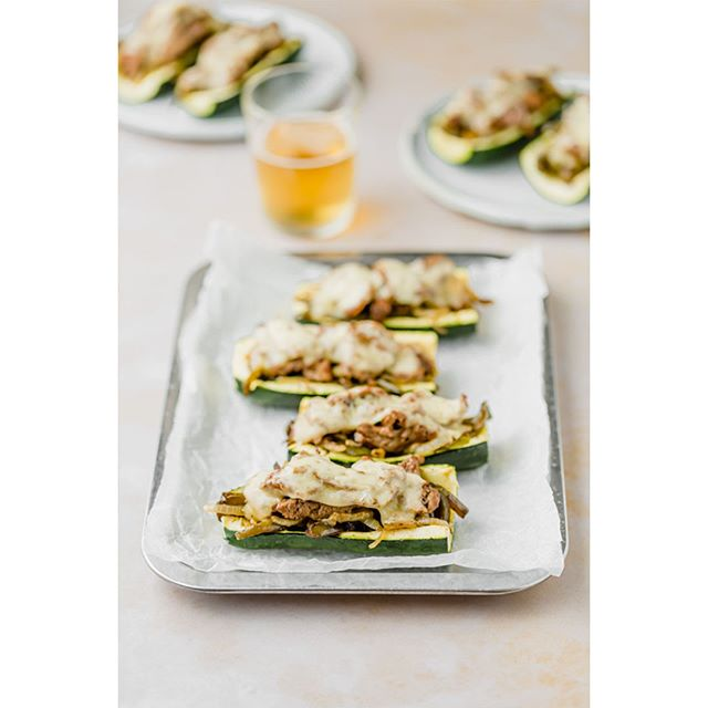 You can put anything in a zucchini. Case in point, Philly Cheesesteak Zucchinis.   Also see: taco zukes, lasagna zukes, enchilada zukes.   #cookingamerica #pennsylvania #phillycheesesteak #philly #feedfeed @thefeedfeed #f52grams @food52 #foodtographyschool @foodtographyschool #thekitchn @thekitchn #foodblogfeed @foodblogfeed #mypinterest @pinterest #foodfluffer @foodfluffer #foodbloggerpro @foodbloggerpro #huffposttaste @huffposttaste #gloobyfood @food_glooby  #cookscountry @cookscountry #TOHfoodie @tasteofhome @allrecipes @simplyrecipes #thecookfeed @thecookfeed #damnthatsdelish @delish #foodphotography #singapore #sg #sgfoodblogger @deliciouslivingmag @cblbackdrops #cblbackdrops