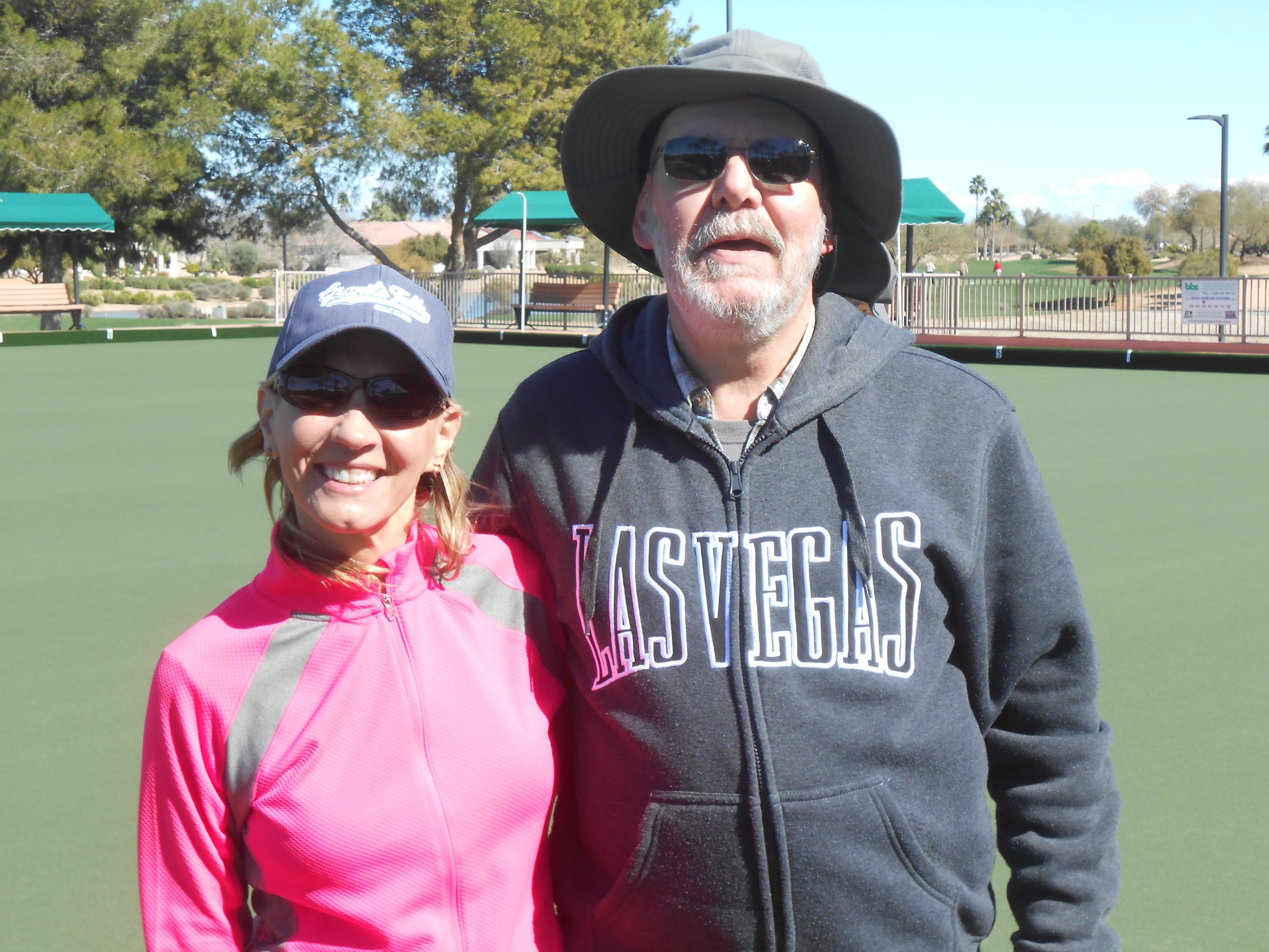 2019 Novice Singles - February 2019 - 1st - Ron Pencak (right)2nd - Jolynn Geglia (left)