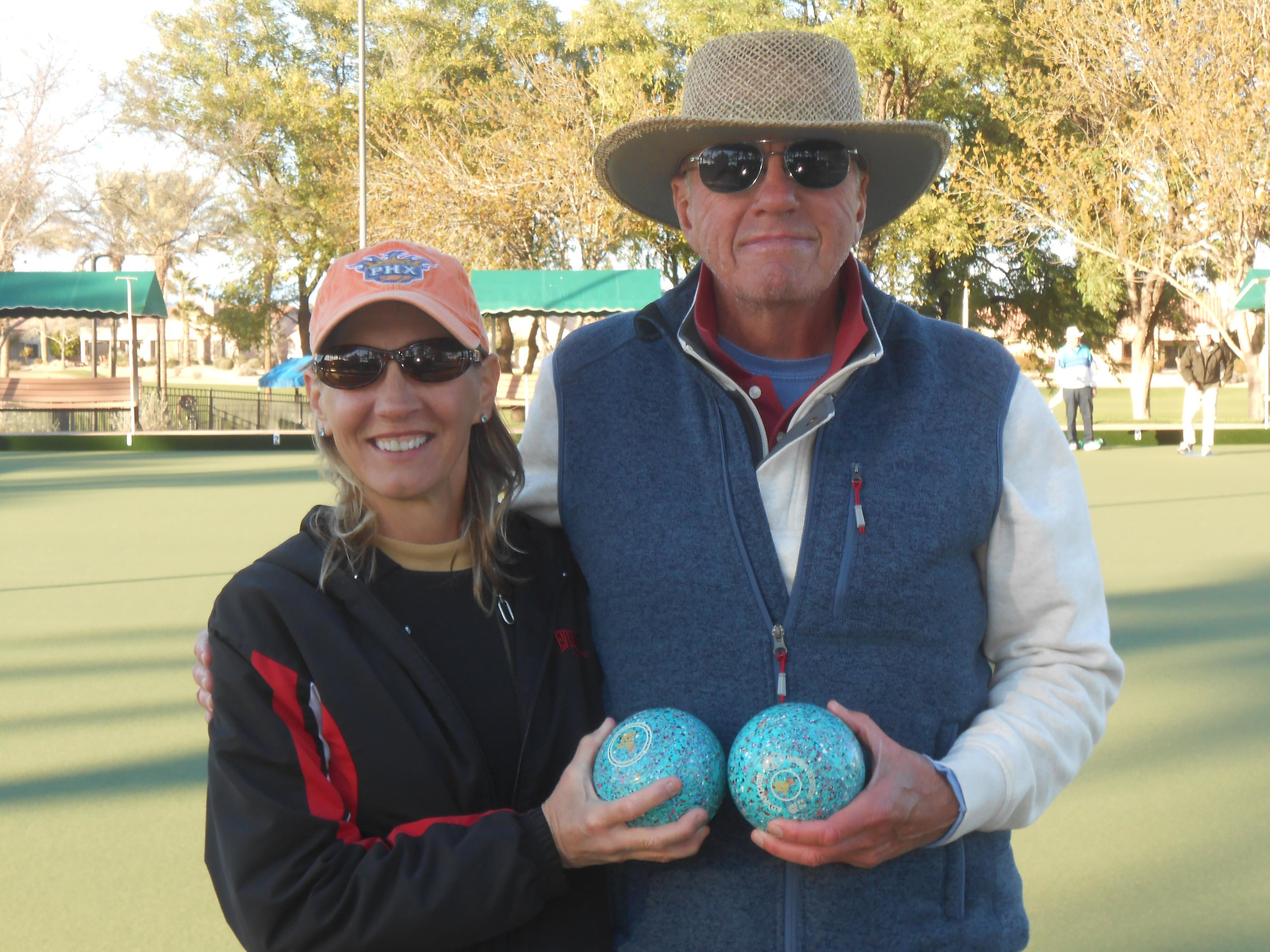 2019 Random Pairs 2nd Place - Jolynn Geglia and Tom Cracraft