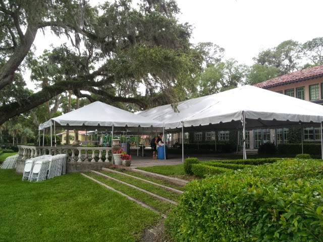 Large Tent for an Event set up by United Rent-All of NE FL