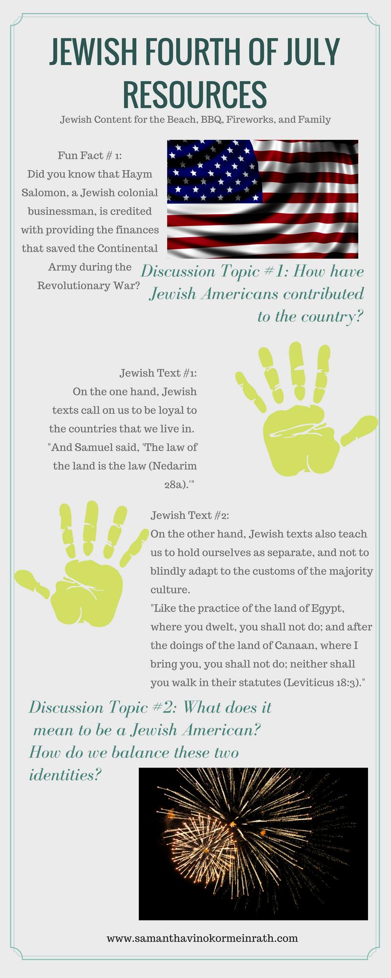 Jewish Fourth of July