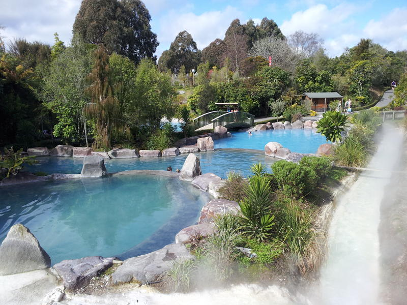 Wairakei Terraces Thermal Hot Pools - For a soak (winter option).Enjoy the healing effect of waters and clay of Wairakei and bathe in a series of hot thermal pools rich in minerals.*Entrance fee is not included into our tour price