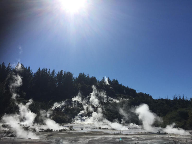 Orakei Korako Geothermal Area - Enjoy the wonders of this beautiful and ancient area. Easy self-guided walk includes a brief ferry trip across Lake Ohakuri. After your walk, there will be time to grab a coffee and a snack from their café before making our way to the next attraction.