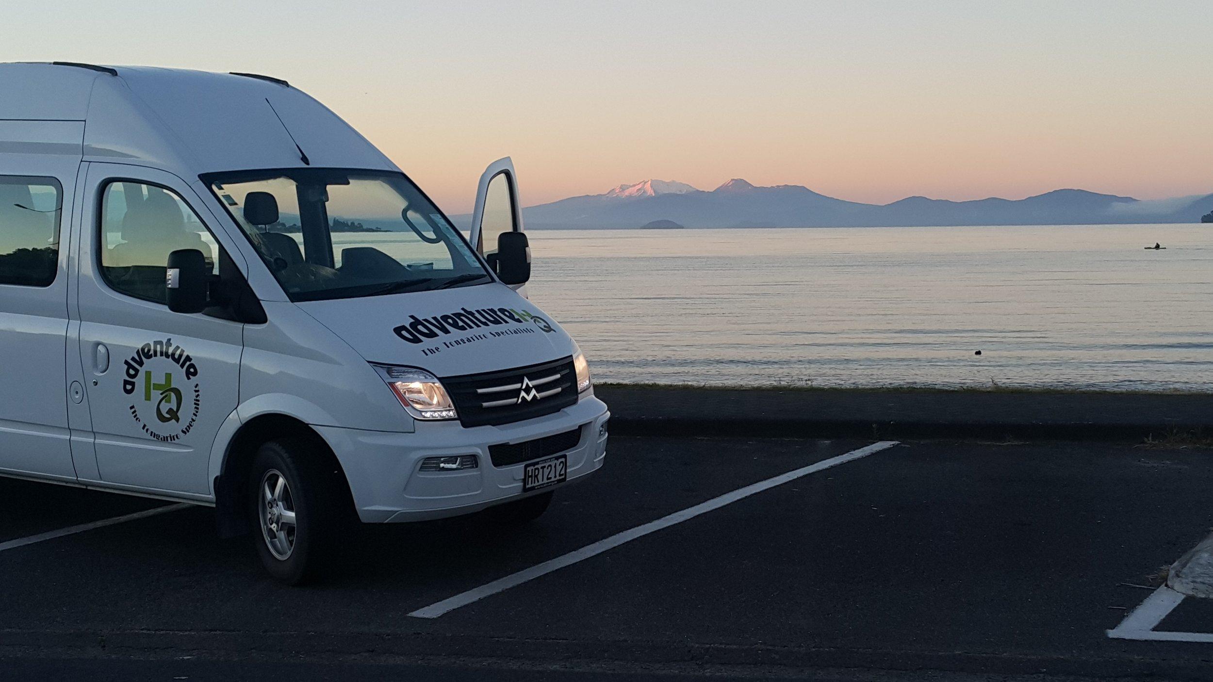 Van with TNP backdrop.jpg