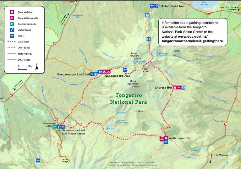 Northern Circuit Map