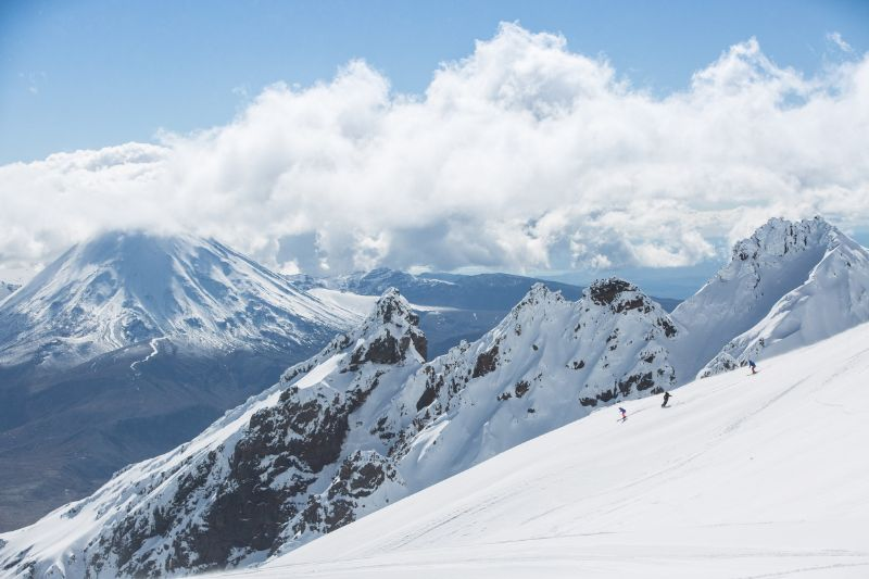 Whakapapa Ski Area - photo from LoveTaupo